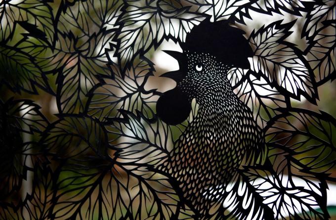 alba,Elisa Mearelli – papercutting
